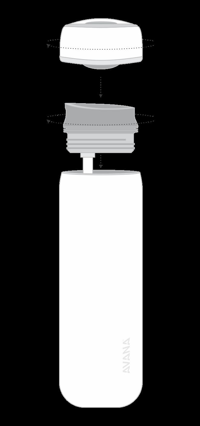 Beckridge's expanded bottle