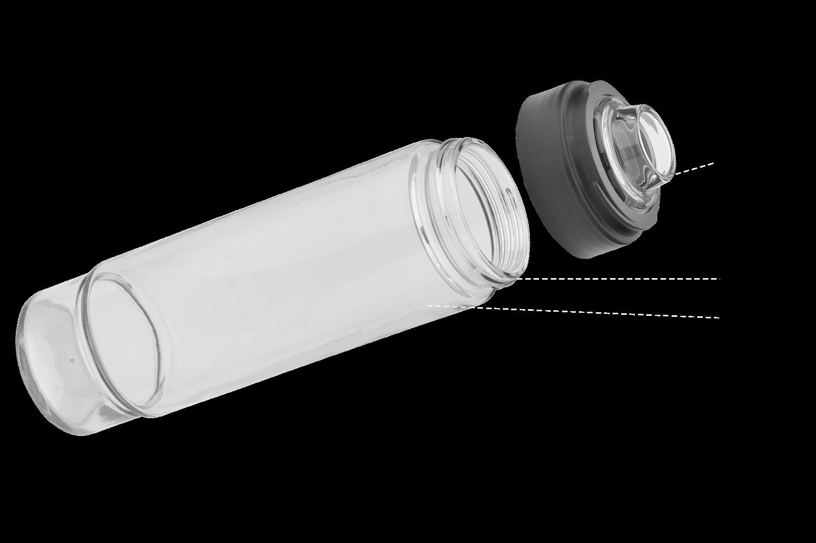 bottle closeup view